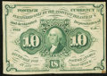 Fractional Currency:First Issue, Fr. 1242 10¢ First Issue Very Fine-Extremely Fine.. ...