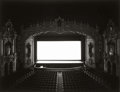 Photographs, Hiroshi Sugimoto (Japanese, b. 1948-). Akron Civic Theatre, 1980. Gelatin silver print. 16-1/2 x 16-1/2 inches (41.9 x 4...