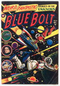 Golden Age (1938-1955):Science Fiction, Blue Bolt #108 (Star Publications, 1951) Condition: GD....
