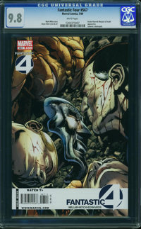 Fantastic Four V3#567 - WESTPORT COLLECTION (Marvel, 2009) CGC NM/MT 9.8 White pages
