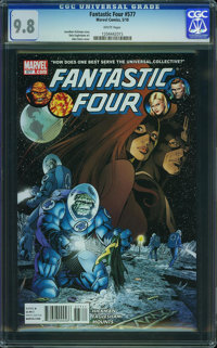Fantastic Four V3#577 - WESTPORT COLLECTION (Marvel, 2009) CGC NM/MT 9.8 White pages