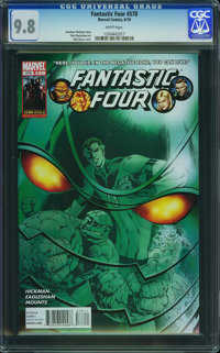 Fantastic Four V3#578 - WESTPORT COLLECTION (Marvel, 2010) CGC NM/MT 9.8 White pages