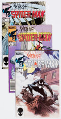 Modern Age (1980-Present):Superhero, Spider-Man Related Box Lot (Marvel, 1980s-90s) Condition: AverageVF/NM....
