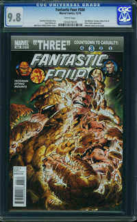 Fantastic Four 584 dont use - WESTPORT COLLECTION (Marvel, 2010) CGC NM/MT 9.8 White pages