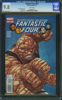 Fantastic Four V3#601 - WESTPORT COLLECTION (Marvel, 2012) CGC NM/MT 9.8 White pages
