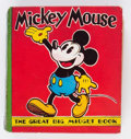 Big Little Book:Cartoon Character, Big Little Book #nn Mickey Mouse First Printing (Dean and Son, 1935) Condition: VG+....
