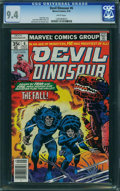 Bronze Age (1970-1979):Miscellaneous, Devil Dinosaur #6 (Marvel, 1978) CGC NM 9.4 White pages.