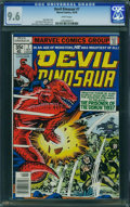 Bronze Age (1970-1979):Adventure, Devil Dinosaur #7 (Marvel, 1978) CGC NM+ 9.6 White pages.