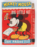 Big Little Book:Cartoon Character, Big Little Book #3049 Mickey Mouse and His Big Little Kit (Whitman, 1937) Condition: FR....