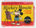 Big Little Book:Cartoon Character, Big Little Book #3061 Mickey Mouse to Draw and Color (Whitman,Early 1930s) Condition: GD....