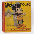 Big Little Book:Cartoon Character, Big Little Book #717 Mickey Mouse First Edition (Whitman, 1933)Condition: FR....