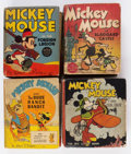 Big Little Book:Miscellaneous, Big Little Book Mickey Mouse Group of 9 (Whitman, 1934-40)Condition: Average VG.... (Total: 9 Comic Books)