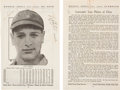 Baseball Collectibles:Others, 1935 Lou Gehrig & Lefty O'Doul Signed Publication Page....