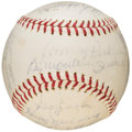 Autographs:Baseballs, 1963 Boston Red Sox Team Signed Baseball (21 Signatures). ...