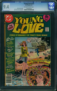 Young Love #125 (DC, 1977) CGC NM 9.4 Off-white to white pages