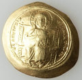 Ancients:Byzantine, Ancients: Constantine X Ducas (1059-1067). AV histamenon nomisma (4.41 gm). Good VF....