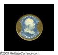 Encased Postage: , HB-3 EP-2 1¢ Ayers Cathartic Pills Choice About New. Some veryminor traces of silver remain on this glossy, pristine 1¢ enc...