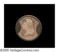 Encased Postage: , HB-63 EP-38 3¢ Brown's Bronchial Troches. Extremely Fine. A veryattractive example, with a perfect case, near-perfect mica ...