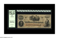 Confederate Notes:1862 Issues, T41 $100 1862. Serial number 79543-X is a Scroll 1 variety thatcarries the T-41 PF-6 CR-319 Fricke qualifier. This rare int...