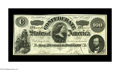 Confederate Notes:1862 Issues, T49 $100 1862. This is a pleasing Crisp Uncirculated example withmargins outside the frame line. This C-note is kept fr...