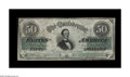 Confederate Notes:1862 Issues, T50 $50 1862. A nice Very Fine with plenty of eye appeal. PresidentJefferson Davis appears as the central figure. Prior...