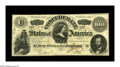 Confederate Notes:1863 Issues, T56 $100 1863. This well preserved 1st Series note sports serialnumber 59. Choice Crisp Uncirculated....