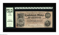 Confederate Notes:1864 Issues, T64 $500 1864. PCGS Choice New 63PPQ. Embossed Serial number 34708-D is found on this $500 that was issued during the de...