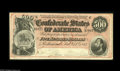 Confederate Notes:1864 Issues, T64 $500 1864. A lovely example which displays just a couple of very light folds. It bears the high serial number 37621 alon...