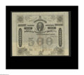 Confederate Notes:Group Lots, Ball 199 Cr. UNL $500 1863 Bond Very Fine. This is the varietyissued at Houston, Texas. A few internal apertures are notice...
