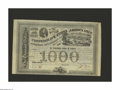 Confederate Notes:Group Lots, Ball 200, 201, UNL Cr. 125B, 125, 125A $1000 1863 Bonds. Thesethree bonds share the view of Richmond from the west vignette...(Total: 3 items)