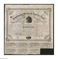 Confederate Notes:Group Lots, Ball 221, 225 Cr. 121, 121 $500 1863 Bonds Very Fine. The Ball 221has its full compliment of eleven coupons, while the 225 ...(Total: 2 items)