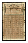 Confederate Notes:Group Lots, Ball 329 Cr. 144D $1000 1864 Bond Good-Very Good. This bond wasused by an enterprising Yankee soldier to write a May 14, 18...