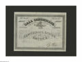 Confederate Notes:Group Lots, Ball 355 Cr. 159 No Denomination 1864 Four Per Cent CallCertificate Fine. It is fortunate that our bidders have a secondop...