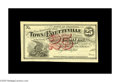 Obsoletes By State:Arkansas, Fayetteville, AR- Town of Fayetteville 25¢ 1872 Rothert 193-1. A nice example of the post Civil War issue from Fayetteville,...
