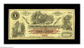 Obsoletes By State:Arkansas, Fayetteville, AR- Town of Fayetteville $1 1872 Rothert 193-3. A very scarce full size issue in this denomination. Very Fin...