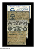 Obsoletes By State:Massachusetts, Salem, MA 3¢ Scrip.. S.T. Rogers 3¢ (3) Dec. 27, 1862 or UndatedVG; VG; CU. John P. Peabody 3¢ (2) Undated C... (Total: 5 notes)