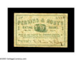 Obsoletes By State:New Hampshire, Manchester, NH- Perkins & Roby 3¢ Jan. 10, 1863. A very neat note printed in green with a central vignette of a cask. We've ...
