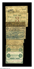 Obsoletes By State:New Hampshire, New Hampshire 3¢ Scrip.. Fisherville, NH- Broomfield House 3¢ Undated VG. Loudon, NH- H.F. Batchelder 3¢ Jan. 1,... (Total: 8 notes)
