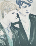 Prints:Contemporary, Elizabeth Peyton (b. 1965). William and Harry, 2000.Lithograph in colors on wove paper. 24 x 19 inches (61 x 48.3 cm)(...