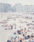 Prints:Contemporary, Massimo Vitali (b. 1944). Knokke Beach Polyptych, from APortfolio of Landscapes with Figures, 2002. Five offset lit...(Total: 5 Items)
