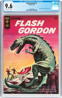 Flash Gordon #1 (Gold Key, 1965) CGC NM+ 9.6 Off-white to white pages