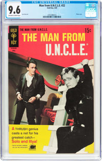 Man from U.N.C.L.E. #22 (Gold Key, 1969) CGC NM+ 9.6 Off-white to white pages