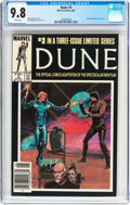 Modern Age (1980-Present):Science Fiction, Dune #3 (Marvel, 1985) CGC NM/MT 9.8 White pages....