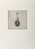Prints:Contemporary, Jim Dine (b. 1935). Untitled, from Four GermanBrushes, 1973. Etching on Crisbrook Waterleaf paper. 11-3/4 x11-3/4 ...