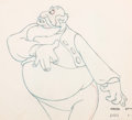 Animation Art:Production Drawing, Pinocchio Stromboli Animation Drawing (Disney, 1940)...