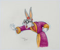 Animation Art:Production Drawing, Virgil Ross - Bugs Bunny Illustration (Warner Brothers, c.1990s)....