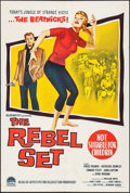 "Movie Posters:Exploitation, The Rebel Set (Paramount, 1961). Australian One Sheet (27"" X 40"").Exploitation.. ..."