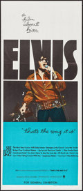 "Movie Posters:Elvis Presley, That's the Way It Is (MGM, 1971). Australian Daybill (13"" X 30"").Elvis Presley.. ..."