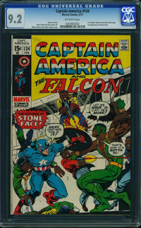 Captain America #134 (Marvel, 1971) CGC NM- 9.2 Off-white pages