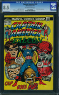 Bronze Age (1970-1979):Superhero, Captain America #162 (Marvel, 1973) CGC VF+ 8.5 Off-white to whitepages.